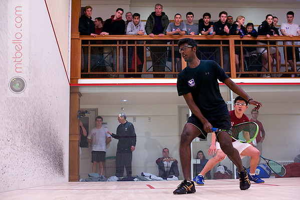 2013 Pioneer Valley Invitational: Nigel Koh (Harvard) and	Tashlin Reddy (Western Ontario)