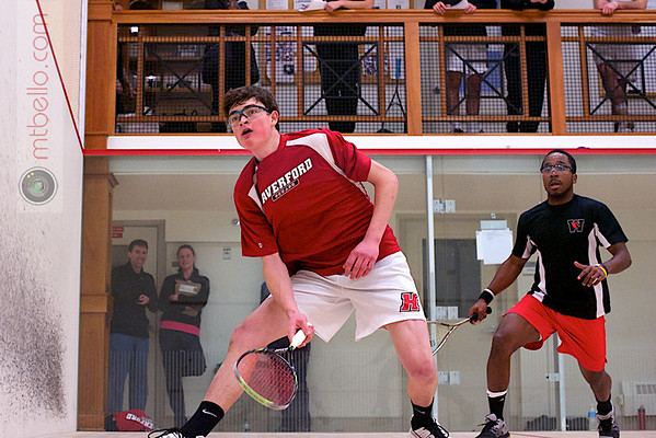 2013 Pioneer Valley Invitational: Raheem Logan (Wesleyan) and Laurenson Ward (Haverford)