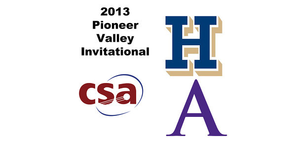 2013 Pioneer Valley Invitational: Chandler Lusardi (Amherst) and Amanda Thorman (Hamilton