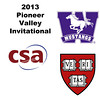 2013 Pioneer Valley Invitational: Yeshale Chetty (Western Ontario) and Tyler Olson (Harvard)