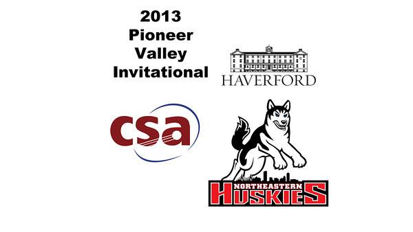 2013 Pioneer Valley Invitational: Randee Johnson (Haverford) and Seohyun Joo (Northeastern)
