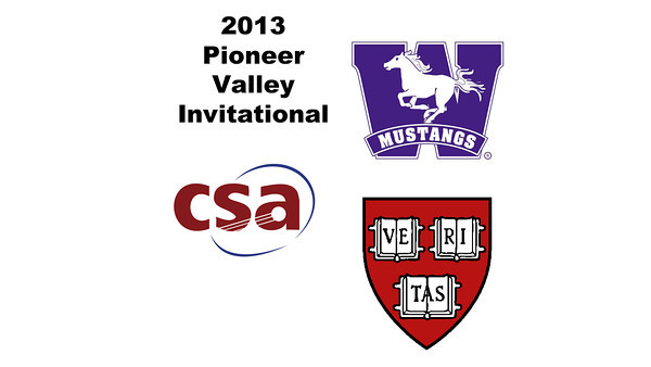 2013 Pioneer Valley Invitational: Gary Power (Harvard) and James Van Staveren (Western Ontario)