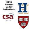 2013 Pioneer Valley Invitational: Laura Gemmell (Harvard) andAmanda Thorman (Hamilton)