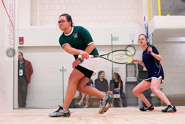2013 Smith College Invitational: Courtney Leous (William Smith) and Alice Kister (Virginia)