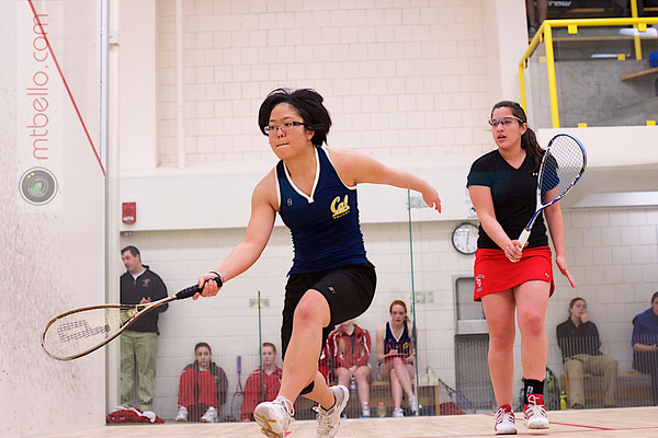 2013 Smith College Invitational: Valeria Quan (St. Lawrence) and Eugenia Kang (Cal Berkeley)