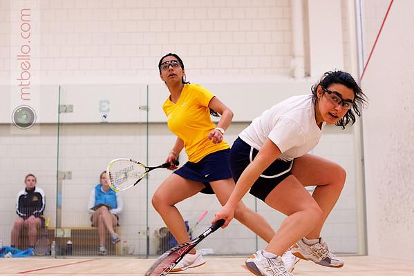 2013 Smith College Invitational: Disha Tharyamal (Drexel) and Rebecca Markson (Conn College)