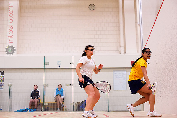 2013 Smith College Invitational: Disha Tharyamal (Drexel) and Rebecca Markson (Conn College)