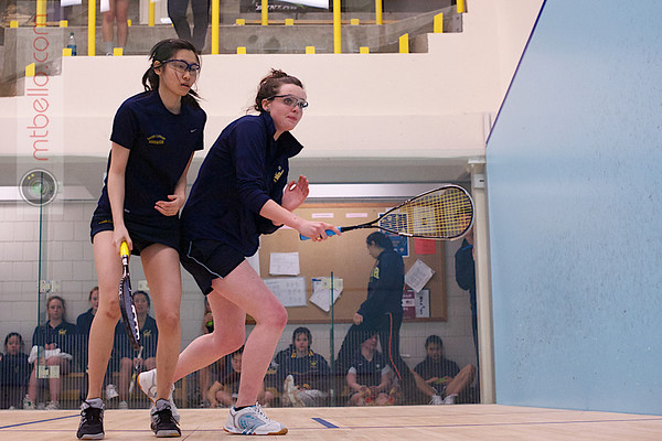 2013 Smith College Invitational: Jacqueline Zhou	(Smith College) and Nicola Bradshaw (Cal Berkeley)