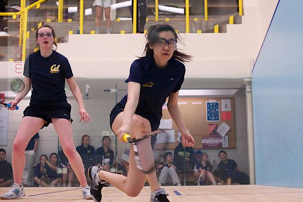 2013 Smith College Invitational: Jacqueline Zhou(Smith College) and Nicola Bradshaw (Cal Berkeley)