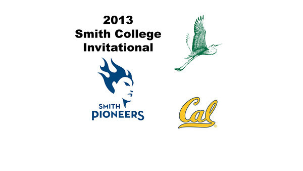 2013 Smith College Invitational: achel Newman (William Smith) and Nicola Bradshaw (Cal Berkeley)