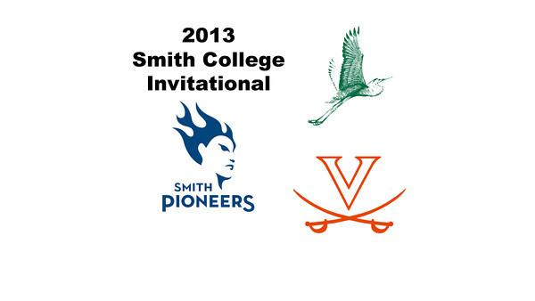 2013 Smith College Invitational: Celia Dyer (Virginia) and Andrea Tran (William Smith)