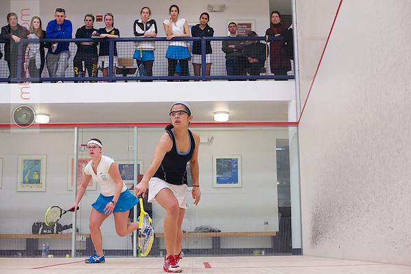 2013 Women's National Team Championships: Ann Bellinger (Tufts) and Amanda Lardizabal (Rochester)