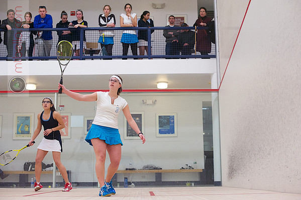 2013 Women's National Team Championships: Ann Bellinger (Tufts) and Amanda Lardizabal (Rochester)
