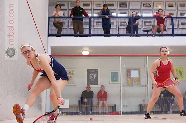2013 Women's National Team Championships: Chloe Blacker (Penn) and Reut Odinak (Cornell)