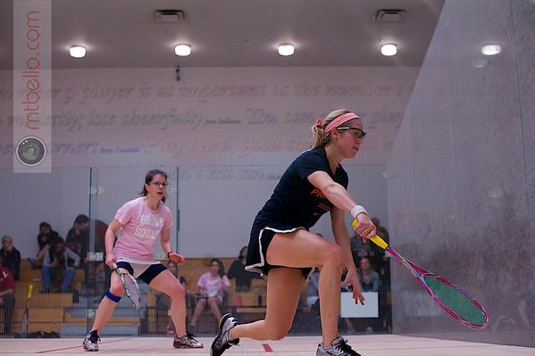 2013 Women's National Team Championships: Elizabeth Eyre (Princeton) and Sarah Domenick (Brown)