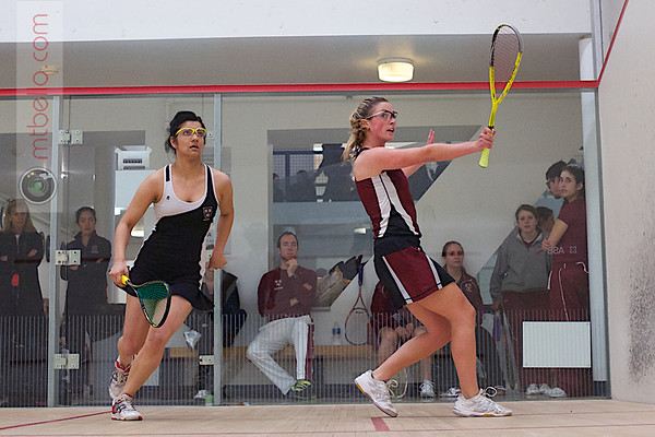 2013 Women's National Team Championships: Saumya Karki (Harvard) and Serena Fagan (Stanford)