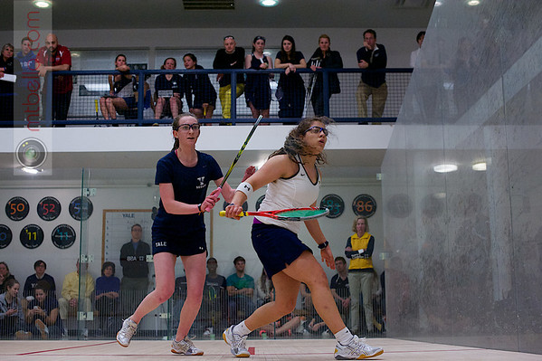 2013 Women's National Team Championships: Millie Tomlinson (Yale) and Kanzy El Defrawy (Trinity)