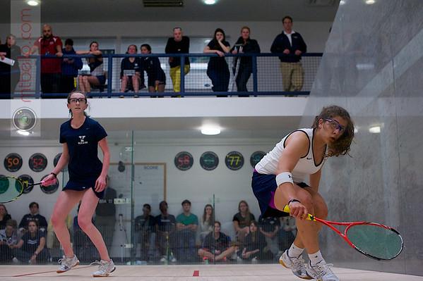 2013 Women's National Team Championships: Millie Tomlinson (Yale) and Kanzy El Defrawy (Trinity)