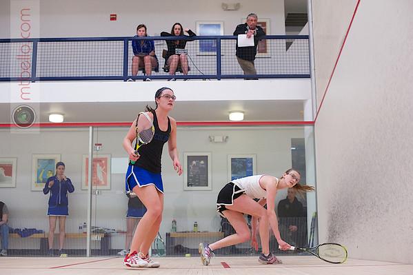 2013 Women's National Team Championships: Sara Wlodarczyk (Bowdoin) and Mikaela Johnson (Colby)