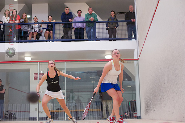 2013 Women's National Team Championships: Lindsay Arader (Hamilton) and Christiana Whitcomb (Bowdoin)
