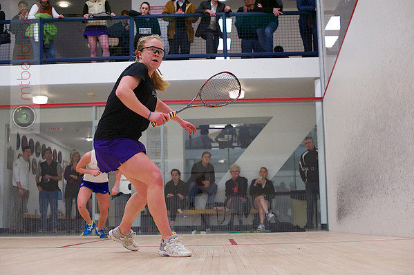 2013 Women's National Team Championships: Ellie O'Neill (Williams) and Chelsea Ross (Franklin & Marshall)
