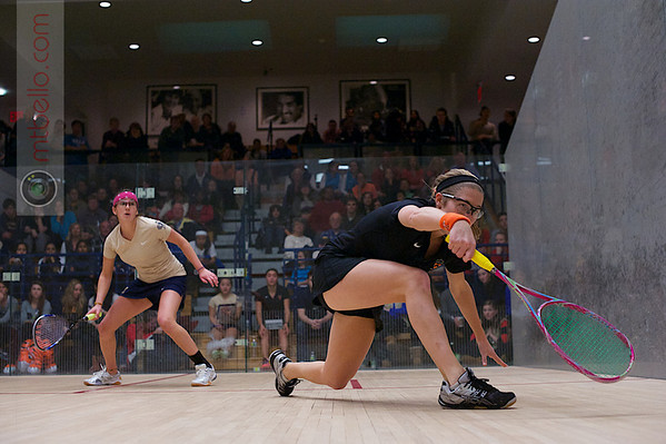 2013 Women's National Team Championships: Elizabeth Eyre (Princeton) and Catalina Pelaez (Trinity)