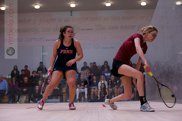 2013 Women's National Team Championships: Michelle A Gemmell (Harvard) and Haidi Lala (Penn)
