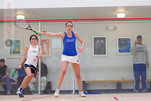 2013 Women's National Team Championships: Molly Parsons (Colby) and Leah Puklin (Conn College)