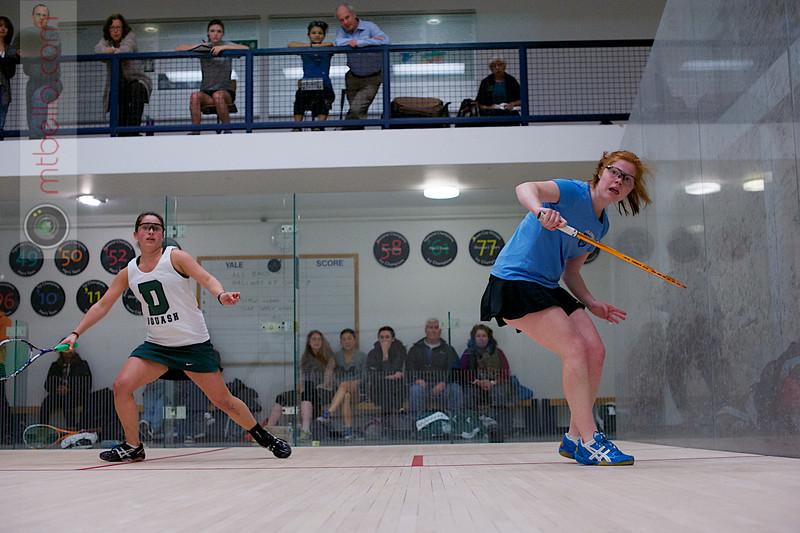 2013 Women's National Team Championships: Corey Schafer (Dartmouth) and Catherine Jenkins (Columbia)