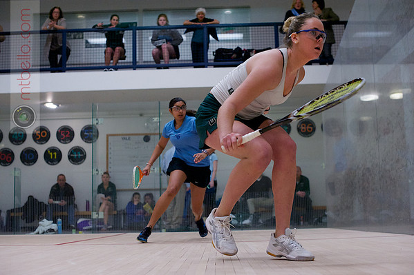 2013 Women's National Team Championships: Nina Scott (Dartmouth) and Alisha Maity (Columbia)