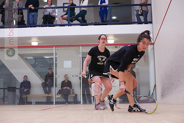 2013 Women's National Team Championships: Alden Drake (Bowdoin) and Grace Zimmerman (Wesleyan)