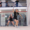 2013 Women's National Team Championships: Bonnie Cao (Bowdoin) and Claire Miller (Wesleyan)