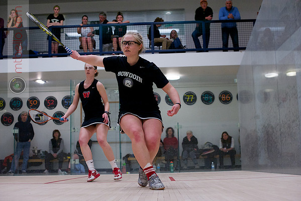 2013 Women's National Team Championships: Mary Foster (Wesleyan) and Torey Lee (Bowdoin)