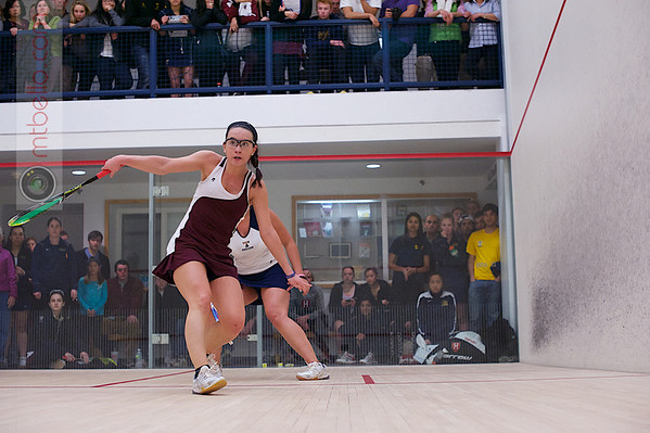 2013 Women's National Team Championships: Megan Murray (Harvard) and Chanel Erasmus (Trinity)