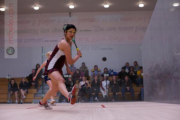 2013 Women's National Team Championships: Saumya Karki (Harvard) and Robyn Hodgson (Trinity)