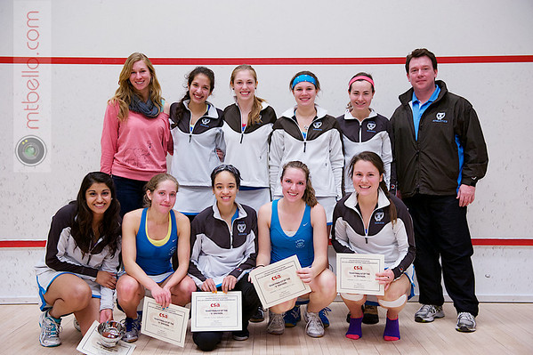 2013 Women's National Team Championships: Tufts