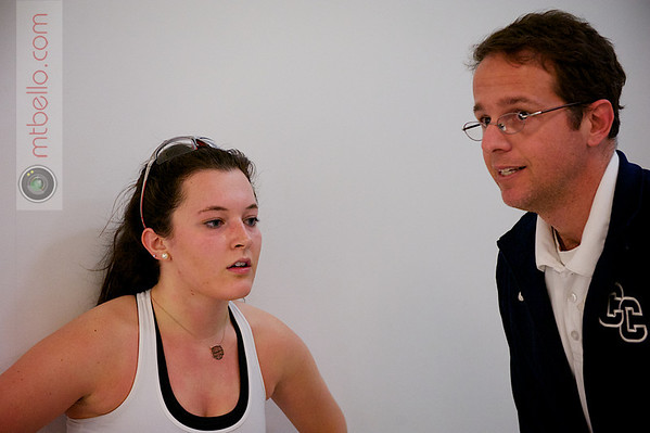 2013 Women's National Team Championships: Ashley Arthur (Conn College) and Chris O'Brien