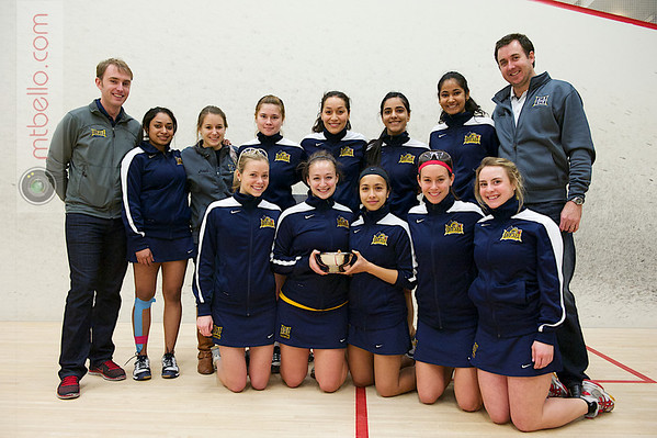 2013 Women's National Team Championships: Drexel with the Most Improved Team Award