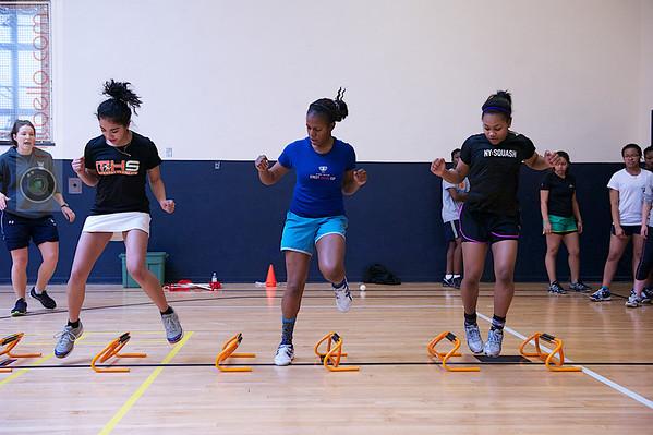 2013 Women's National Team Championships: NUSEA Elite Workouts