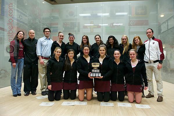 2013 Women's National Team Championships: Harvard