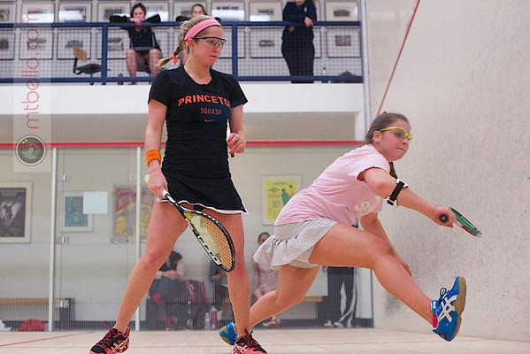 2013 Women's National Team Championships: Alexis Saunders (Princeton) and Isabel Pitaro (Brown)