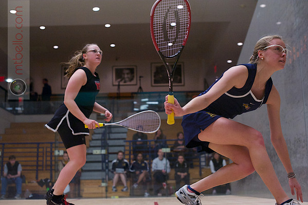2013 Women's National Team Championships: Lauren Nelson (Wesleyan) and Katie Barnes (Drexel)