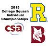 2015 CSA Individuals - Pool Trophy: Ahmed Abdel Khalek (Bates) and Ryosei Kobayashi (Rochester)