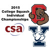 2015 CSA Individuals - Ramsay Cup: Danielle Letourneau (Cornell) and Jenny Scherl (Yale)