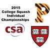 2015 CSA Individuals - Ramsay Cup: Amanda Sobhy (Harvard) and Olivia Fiechter (Princeton)