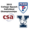 2015 CSA Individuals - Molloy Cup: Joseph Roberts (Yale) and August Frank (Penn)