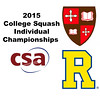 2015 CSA Individuals - Pool Trophy: Ahmed Bayoumy (St. Lawrence) and Neil Cordell (Rochester)
