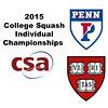 2015 CSA Individuals - Ramsay Cup: Amanda Sobhy (Harvard) and Anaka Alankamony (Penn)