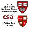 2015 MCSA Team Championships -  Potter Cup: Ahmed Bayoumy (SLU) and Bradley Smith (Harvard)