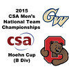 2015 MCSA Team Championships -  Hoehn Cup: Jordan Brail (Cornell) and James Reiss (GWU)